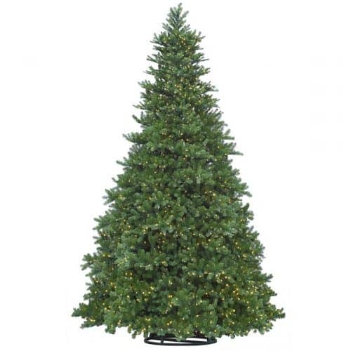 30 FT Grand Teton Pine with 26,850 Warm LED Lights - Commercial Artificial Christmas Trees