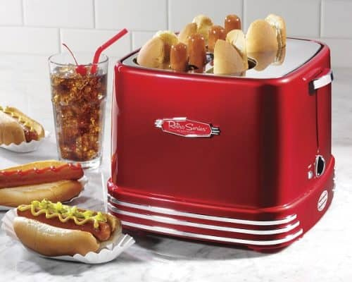 4 Slot Hot Dog Toaster - Gift for man cave