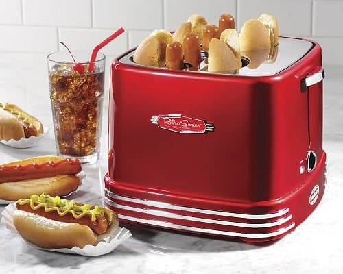 4-Slot Pop-Up Hot Dog Toaster - Gifts for 8 year old boys