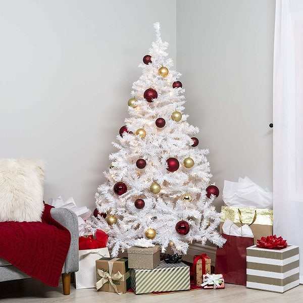 5 Best Pre lit White Christmas Trees 2018 • Absolute Christmas