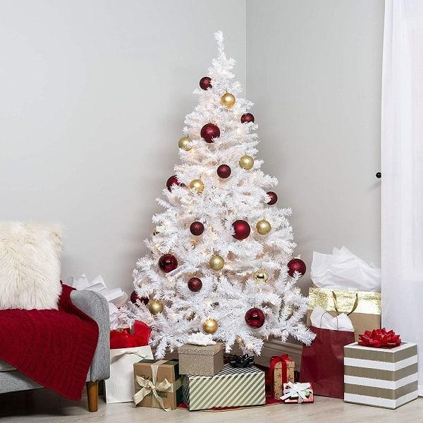 Pre Lit Christmas Tree Fuses: 5 Best Pre Lit White Christmas Trees 2018 • Absolute Christmas