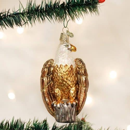Bald Eagle Christmas Tree Ornament