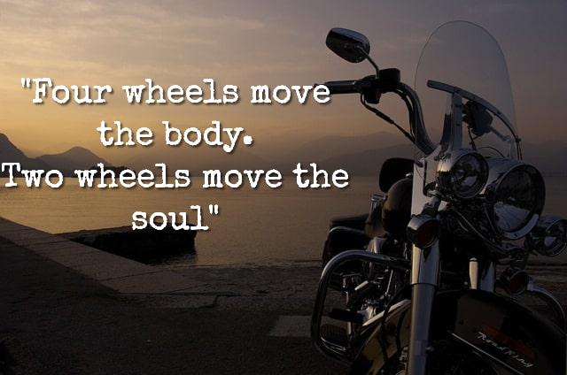 Biker Quote - Gifts for Motorcycle Lovers - Gift Ideas for Bikers