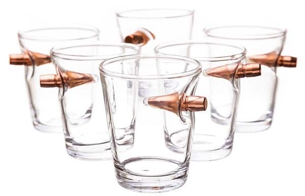 Bullet Shot Glass Set of 6