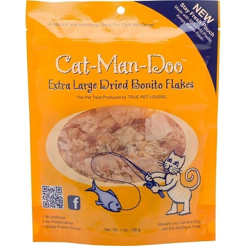 Cat Man Doo Dried Bonito Flakes - Gifts for cats