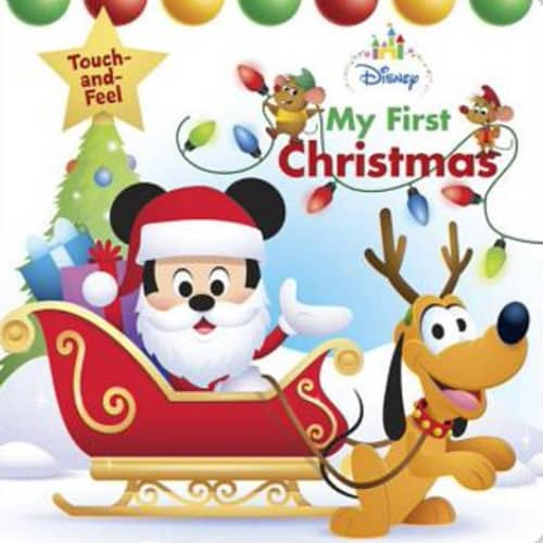 Disney Baby My First Christmas Board Book | Best gifts for new baby girl