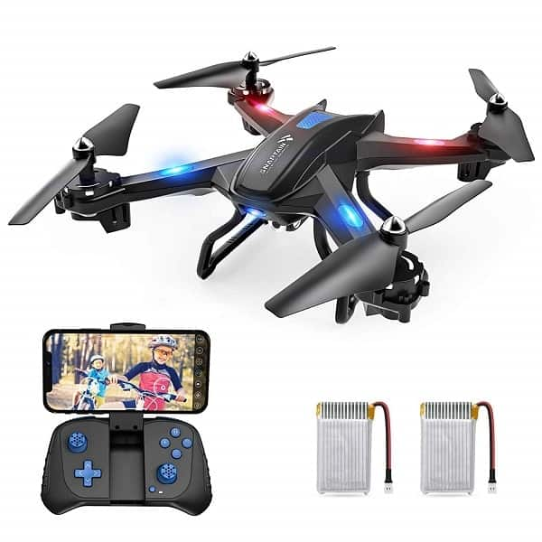 Drone with 720P HD Camera,Voice Control