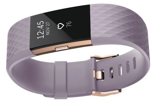 Fitbit Charge 2 in Lavender Rose Gold
