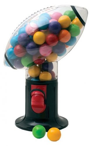 Football Snack Dispenser Gumball Machine - Gift for football lovers