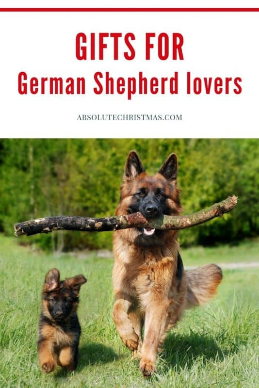 Gifts for German Shepherd Lovers pin