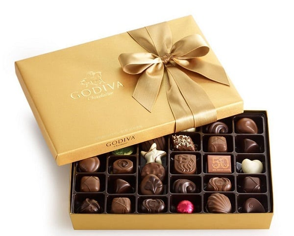 Godiva 36 piece Gold Ballotin | Gifts Ideas for Grandma, Gift Ideas for Grandma