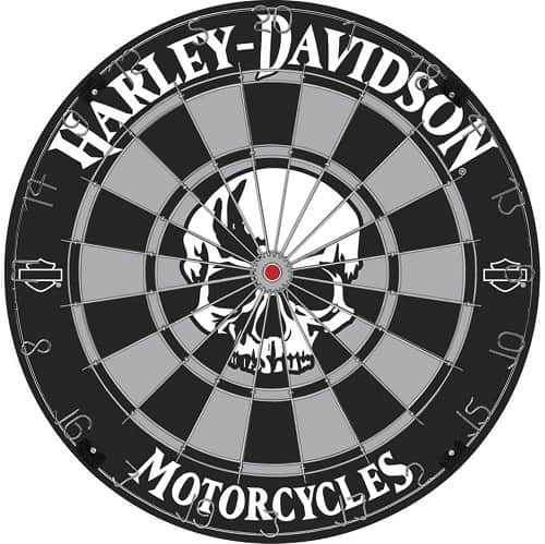 Harley Davidson Dartboard - Great gift for motorcycle lovers