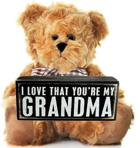 I Love That You're My Grandma Teddy Bear - Gift Ideas for Grandma
