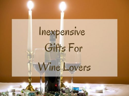 Inexpensive gifts for wine lovers