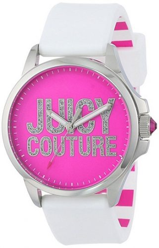 Juicy Couture Women's Jetsetter Crystal Dial Watch
