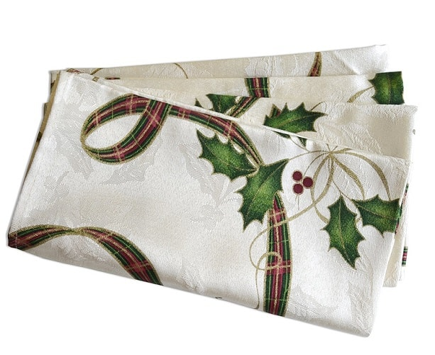 Lenox Holiday Nouveau Napkins - Lenox Holiday Nouveau collection