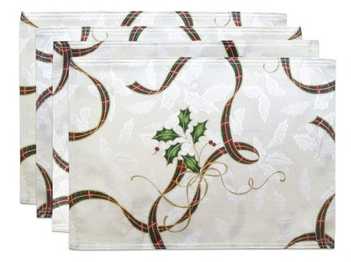 Lenox Holiday Nouveau Placemats - Lenox Holiday Nouveau Collection