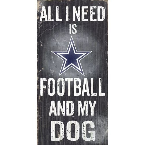 NFL Football and My Dog
