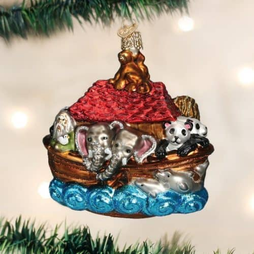 Noah's Ark Christmas Tree Ornament