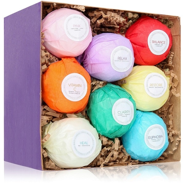 Organic Bath Bombs | Gifts Ideas for Grandma, Gift Ideas for Grandma