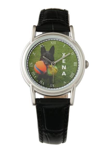 Personalized German Shepherd Watch