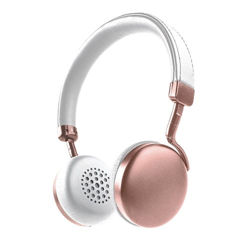 Photive HF1 Rose Gold Bluetooth Headphones