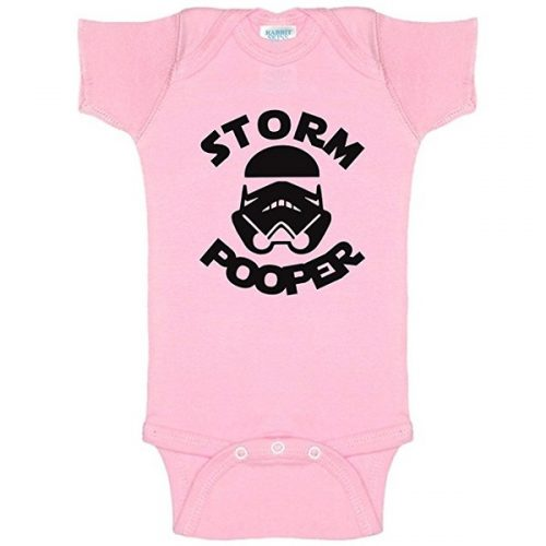 Pink Storm Pooper Onesie - Gift for baby
