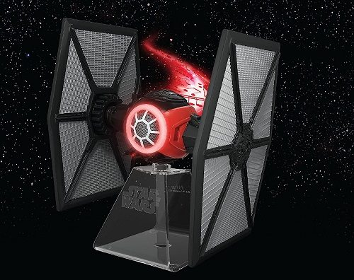 Star Wars Bluetooth Speaker - The Force Awakens First Order Tie fighter Villain Starfighter Lights Up When In Use #giftideas Gifts for 12 year old boys