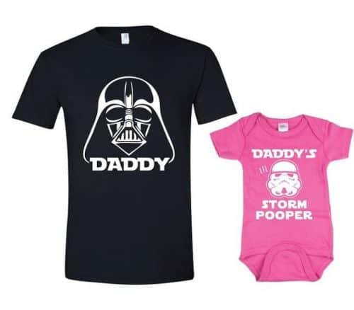 Storm Pooper Onesie And T Shirt - Gift for baby and daddy