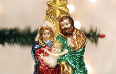 The Holy Family Religious Tree Ornament