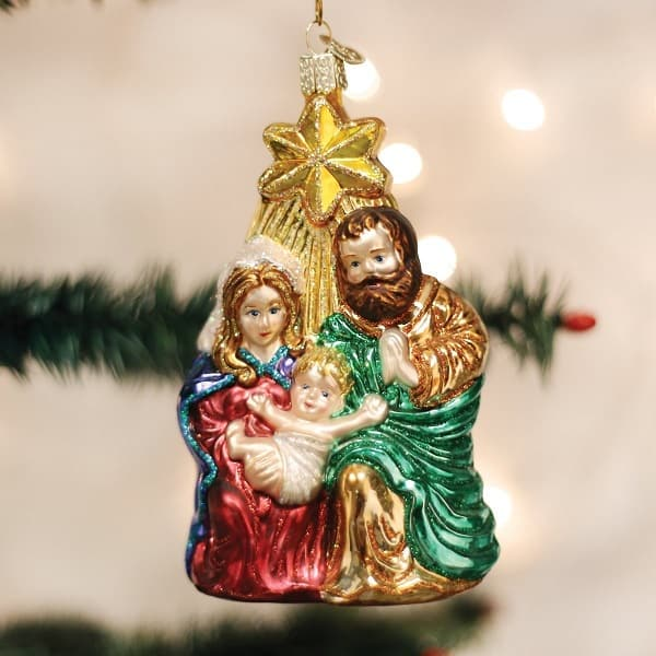 The Holy Family Religious Tree Ornament