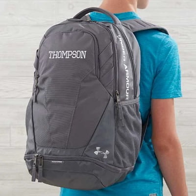 Under Armour Embroidered Hustle Backpack