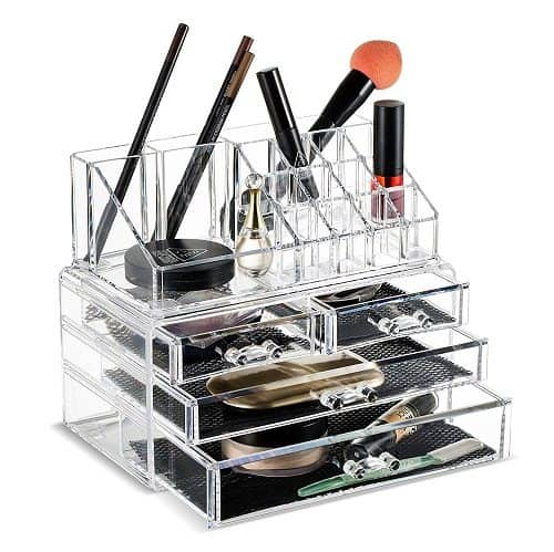 Unique Home Makeup Cosmetic Organizer