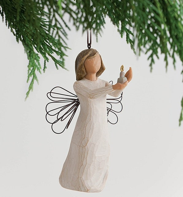 Willow Tree Angel of Hope Candle Ornament