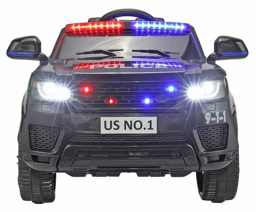12V Kids Ride On Police Car with Remote Control