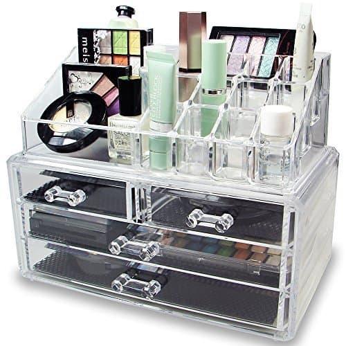 Acrylic Jewelry & Makeup Organizer