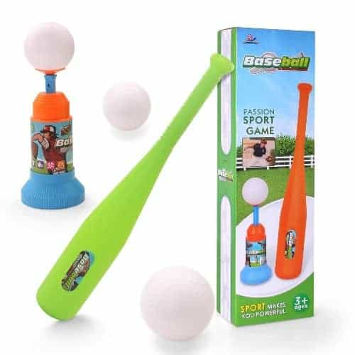 Automatic Launcher Baseball Bat Toy
