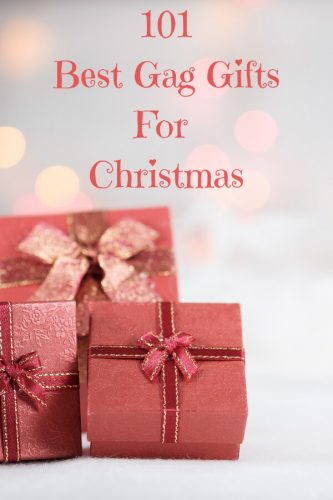 Best Gag Gifts for Christmas - White Elephant Gift Ideas