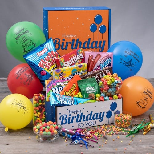 Birthday Surprise Box