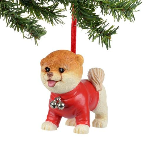 Boo the World's Cutest Dog Christmas Ornament