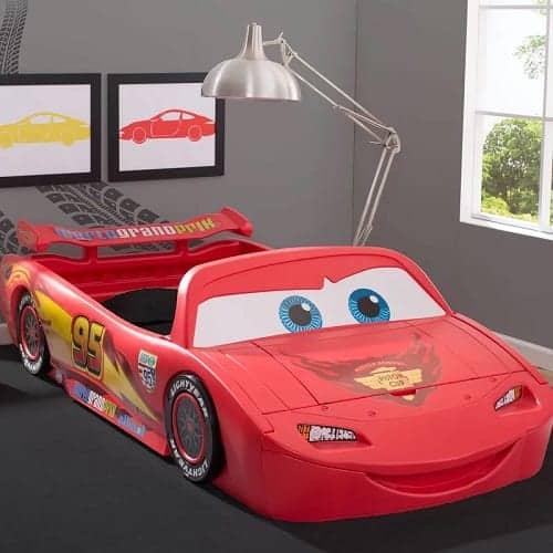Cars Lightning Mcqueen Car Toddler Bed