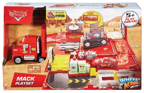 Cars Mack Action Drivers Playset