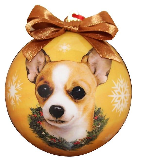 Chihuahua Christmas Ornament