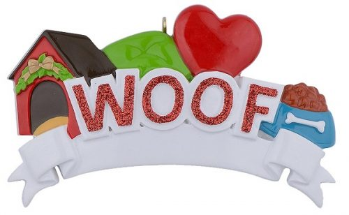 Christmas Personalized Dog Ornament