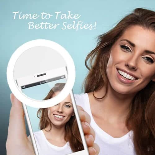 Clip on Selfie Ring Light - Phone Selfie Light | Best Gifts for 12 Year Old Girls