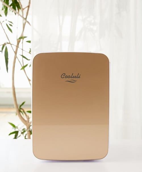 Cooluli Gold Infinity 10L Mini Refrigerator