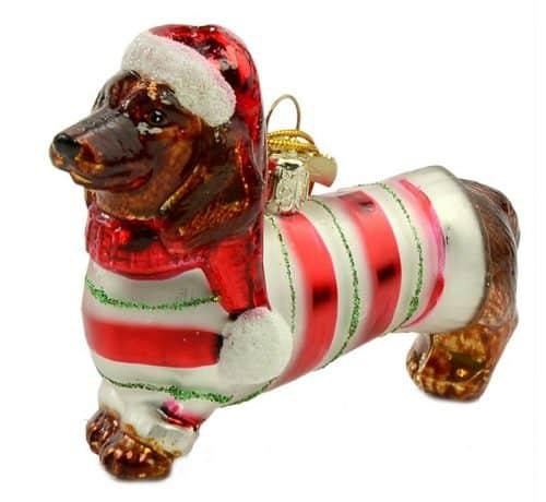 Dachshund Christmas Ornament By Kurt Adler