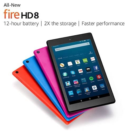 Fire HD 8 Tablet - Gifts for Girls Age 10