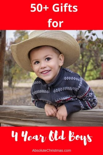 Gifts for 4 Year Old Boys - Awesome gifts for boys age 4