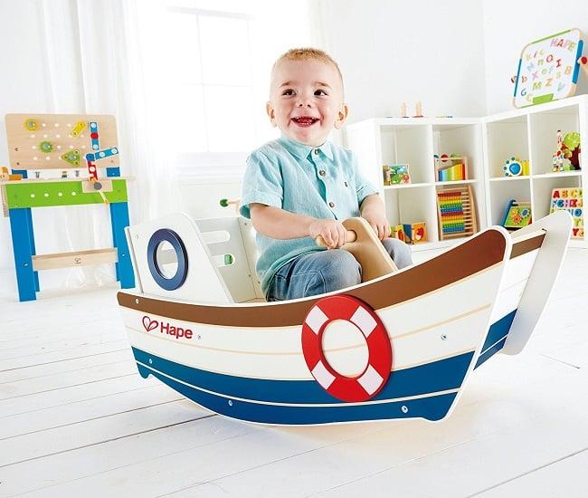 High Seas Wooden Boat Rocker By Hape